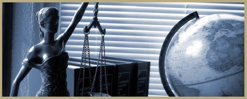 Divorce and Family Law Scales of Justice