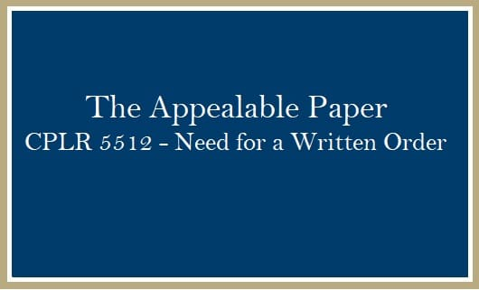 The Appealable Paper