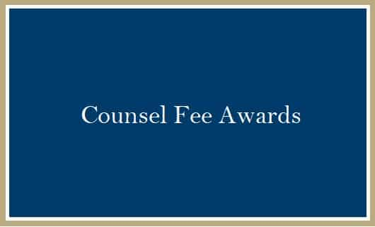 Counsel Fee Awards