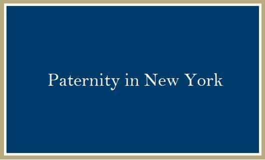 Paternity in New York